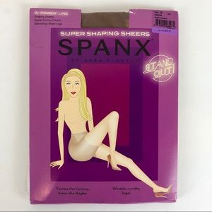 Spanx super shaping sheers size B